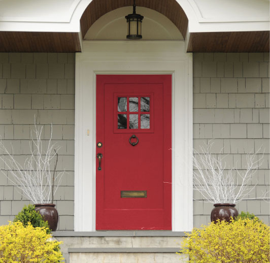 Front Door Holiday Decorating Tips