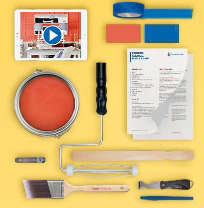 Make your projects easier and more enjoyable by watching our How to Paint videos.