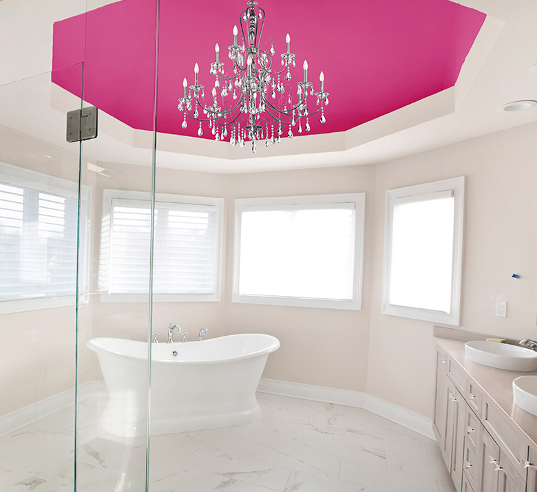 Bathroom Colors Most Flattering To Complexion