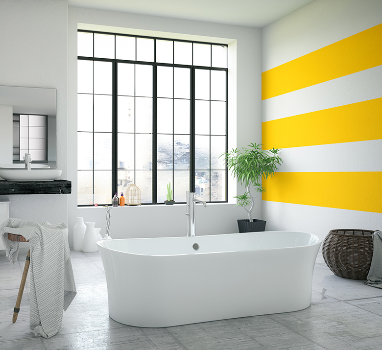 & 5 Most Energizing Bathroom Colors