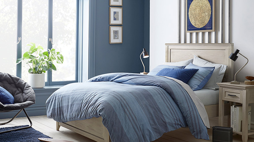 terrific boys bedroom | Terrific Teen Rooms Begin with Color