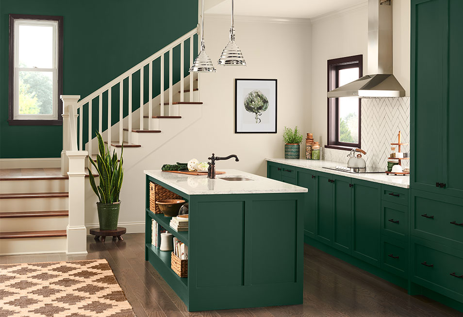 Dard Hunter Green SW 0041 - Historic Color Paint Color